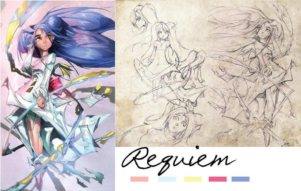 Character Adopt: Requiem by JustArt27