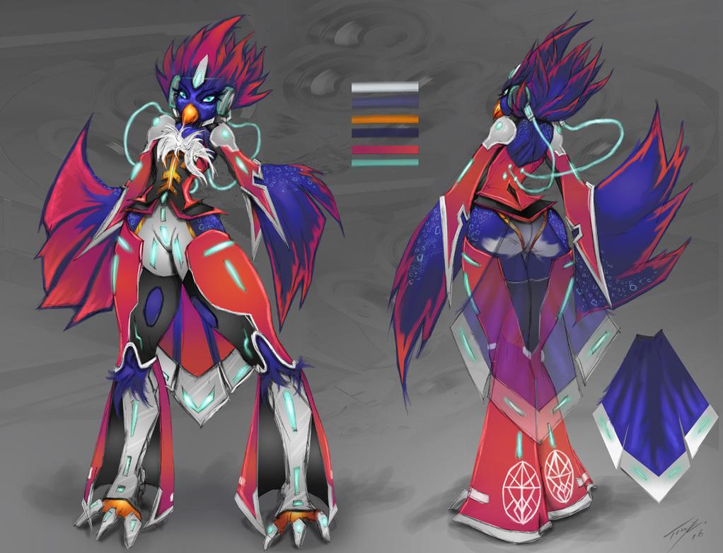 Neo-bird by JustArt27