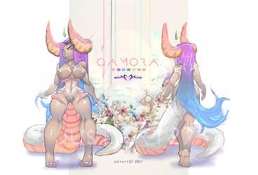 Adoptable Gamora by JustArt27