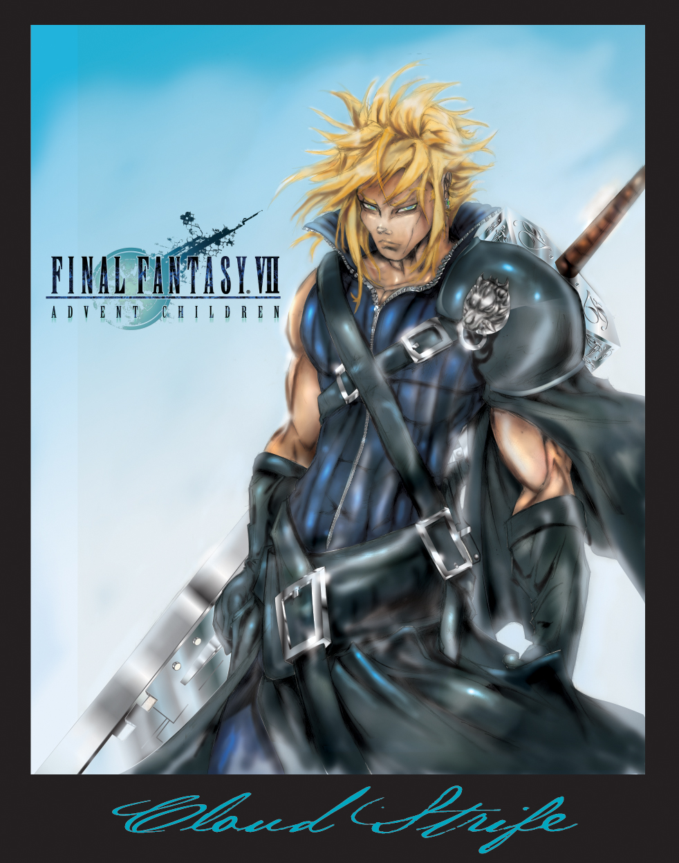 Cloud Strife His Story By Justart27 On Deviantart