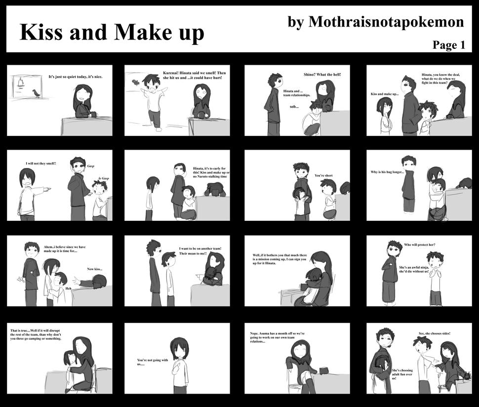 Kiss And Make Up: Kiss And Make Up Part 1 By Mothraisnotapokemon On DeviantART
