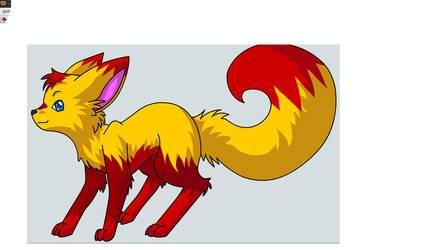 Kidflash turned fox