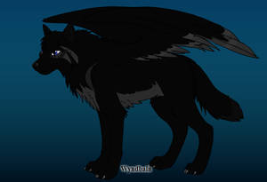 A  wolf design from wolf maker