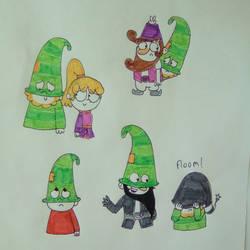 Bashful-doodle dump 1 by 7DLOUDBEARS