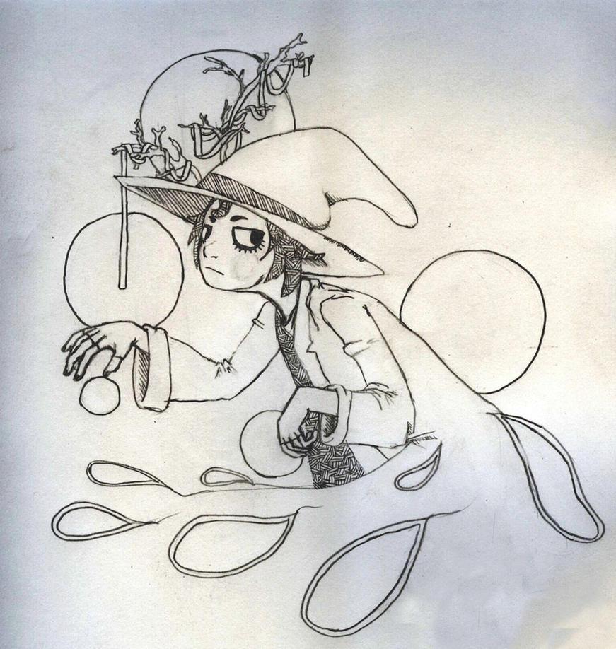 Witch in Winter by Arkeyana