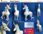 The Last Unicorn Fanart Plush