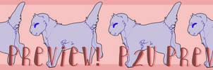 . P2U . Kitten Lineart! by rnorningstar-adopts