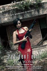 Resident Evil: ADA WONG (Movie Poster Version) by SgStrife