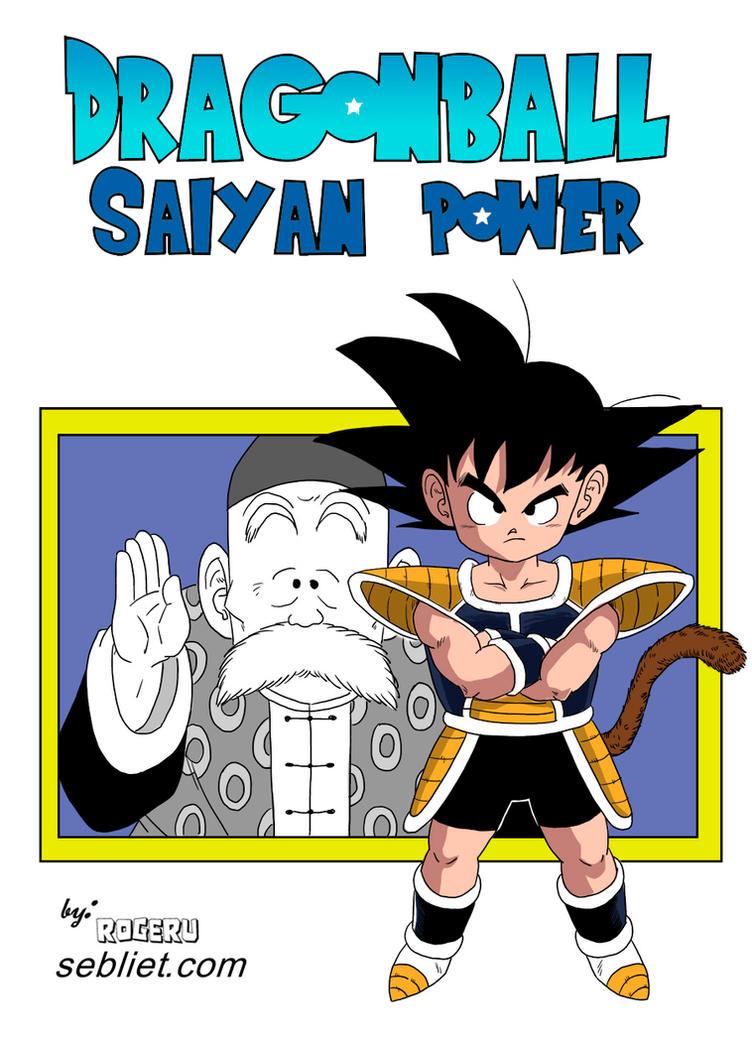 Dragon Ball Saiyan Power - Fanart by Rogeru by Sebliet