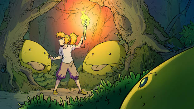Forest Of Pluppies (Color)