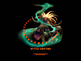Witch Doctor I by Holyknight3000