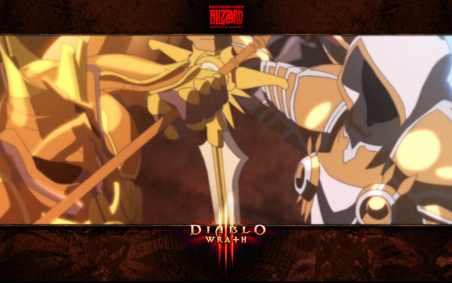 Diablo 3 Wrath 10 Imperius And Tyrael By Holyknight3000