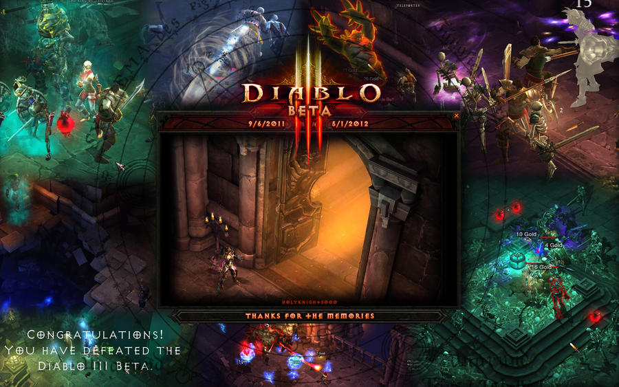 Diablo III: Beta - Thanks for the Memories by Holyknight3000