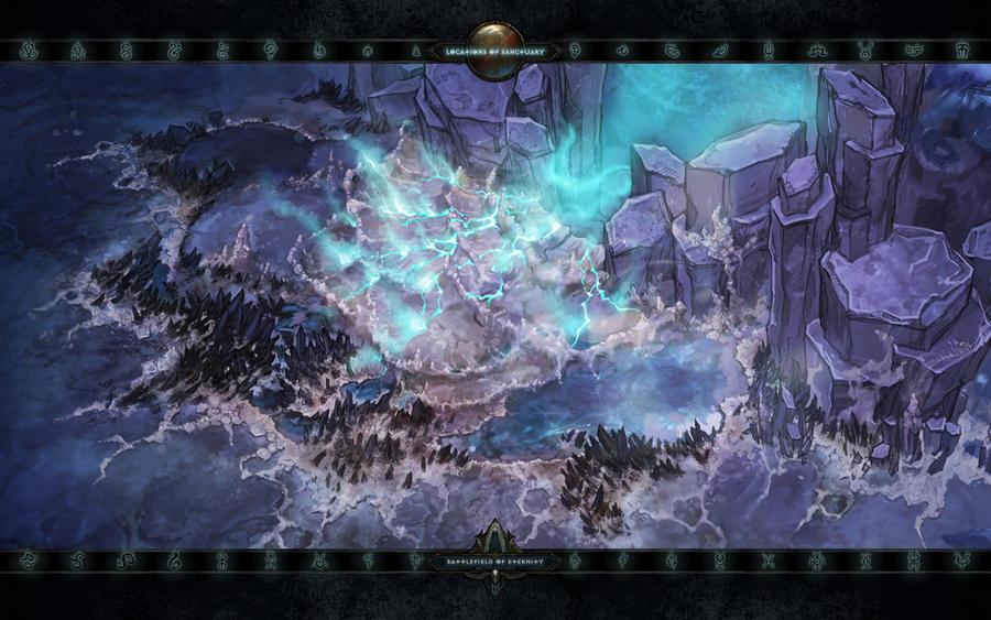Locations II #4: The Battlefields of Eternity by Holyknight3000