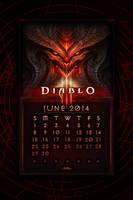 Caldendar Mobile #1: June 2014 by Holyknight3000