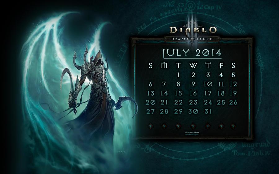Caldendar #2: July 2014