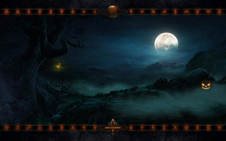Happy Halloween 2014 by Holyknight3000