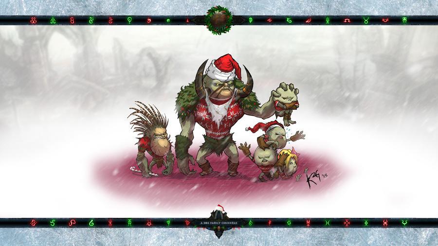 Christmas 2014: A Bog Family Christmas by Holyknight3000