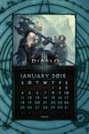 Calendar Mobile #3: January 2015