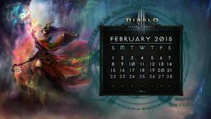 Calendar #8: February 2015 by Holyknight3000