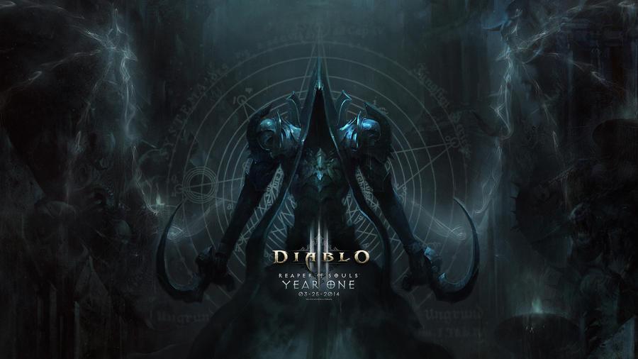 Diablo 3 Reaper Of Souls Wallpapers: Happy Anniversary Diablo 3 Reaper Of Souls (Wallpaper