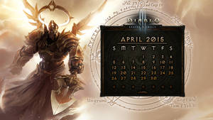 Calendar #10: April 2015 by Holyknight3000