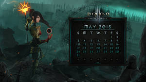 Calendar #11: May 2015 by Holyknight3000