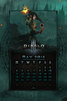 Calendar Mobile #7: May 2015 - EU Style by Holyknight3000