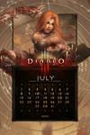 Calendar Mobile #9: Universal July