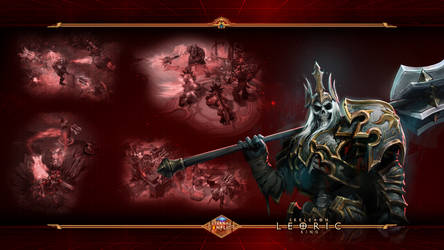 HotS#5: Leoric the Skeleton King by Holyknight3000