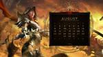 Calendar #14: Universal August