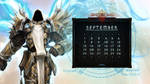 Calendar #15: Uni September - Tyrael