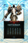 Calendar Mobile #11: Uni September - Tyrael