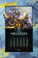 Calendar Mobile #13: Uni November by Holyknight3000