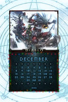 Calendar Mobile #14: Uni December by Holyknight3000