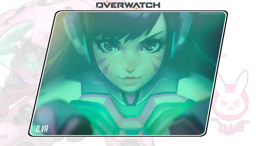 Overwatch #1: D.Va by Holyknight3000
