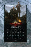 Calendar Mobile #15: Uni January