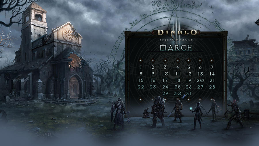 Calendar #21: Uni March by Holyknight3000