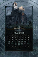 Calendar Mobile #17: Uni March by Holyknight3000