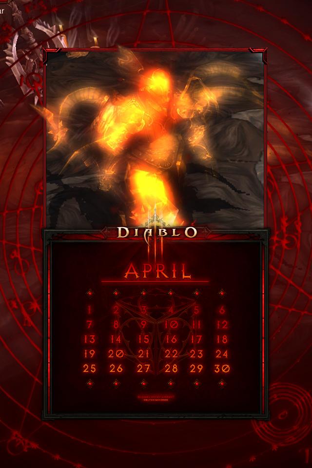 Calendar Mobile #18: Uni April - King Kanai by Holyknight3000