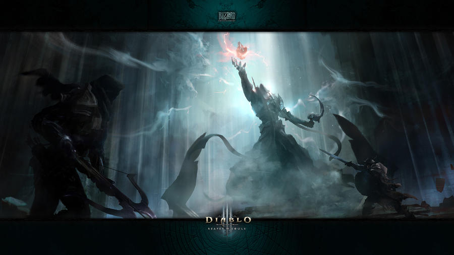 Diablo 3: Reaper of Souls: The Final Confrontation by Holyknight3000