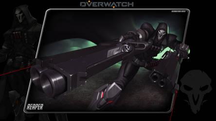 Overwatch #2: Reaper by Holyknight3000