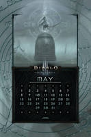 Calendar Mobile #19: Uni May - Monk Revival by Holyknight3000