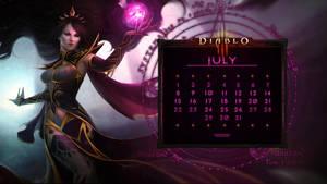 Calendar #25: Uni July - Arcana Unlseashed
