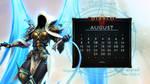 Calendar #26: Uni August - Auriel