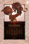 Cal. Mobile #26:  Uni December - Fallen Christmas