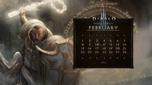 Calendar #32:  Uni February - Cruader