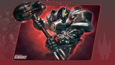 Overwatch #8: Reinhardt by Holyknight3000