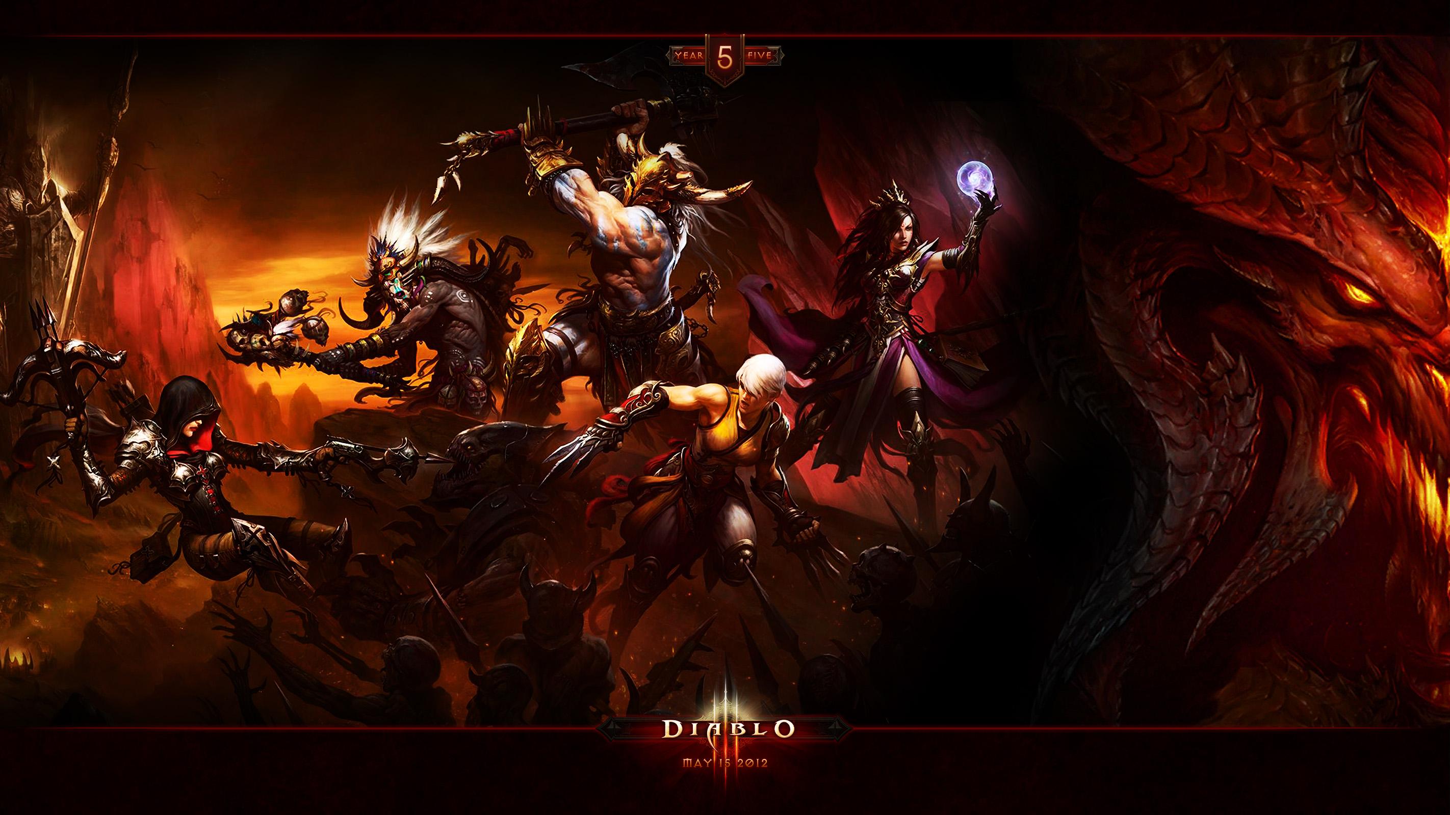 Wallpaper Art Diablo 3
