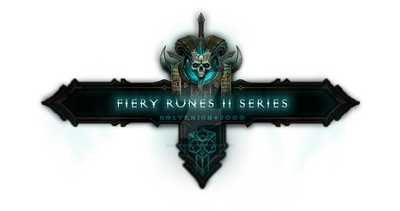 Fiery Runes II: Series III Nameplate Preview by Holyknight3000